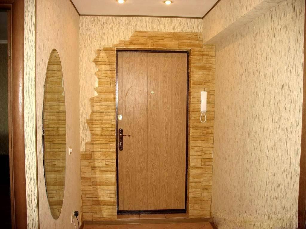 входные двери дизайн отделка